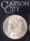 4V: 1884 GSA Government Packed Morgan Carson City $1