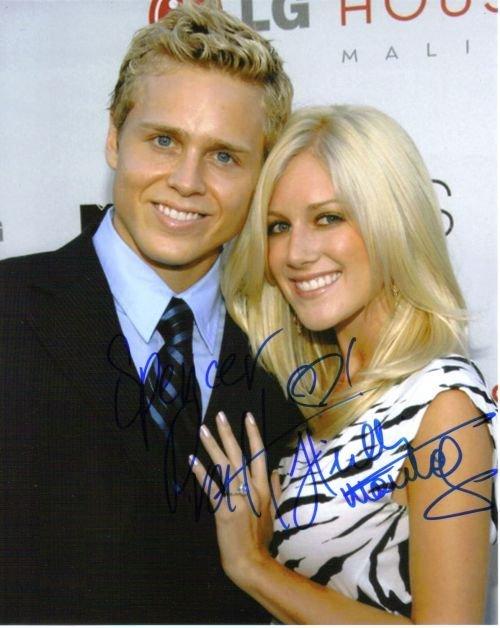22G: Heidi Montag & Spencer Pratt autographed photo
