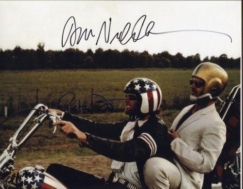 24G: Jack Nicholson & Peter Fonda 11x14 autographed pho