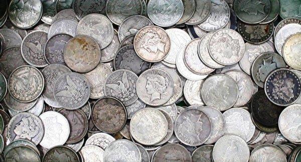 9: Random Date Morgan Silver Dollar from Cache