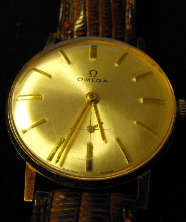 2: Vintage 18k YG OMEGA Man's Watch