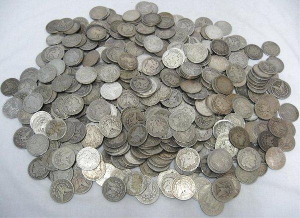 1H: Roll of 20 Morgan Silver Dollars- 1878-1921 g-xf