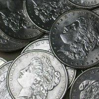 5H: Lot of 90 Morgan Silver Dollars