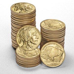 2: *2009* 1 oz Gold Buffalo Coins