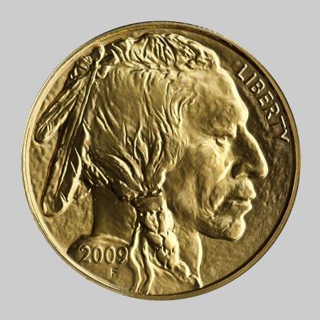 1B: 1 oz. Gold Buffalo Coin 24k Pure Gold