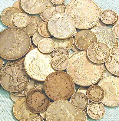 1C: Lot of $2.00 Face Value 90% SIlver Coinage