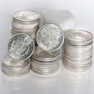 3A: 1921-D Morgan Dollar Brilliant Unc (MS-60 - MS-63)
