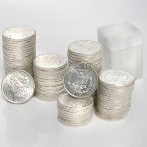 8A: 92 AU-UNC 1878-1904 Morgan Silver Dollars