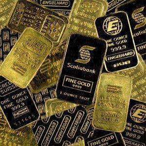 10A: 1 oz Gold Bar (.999 Fine) - (NO ASSAY CARDS)