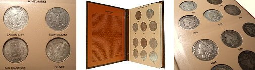 572: Complete Morgan Silver Dollar Year Set