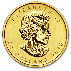 5A: 2010 - (1 oz) Gold Maple Leaf