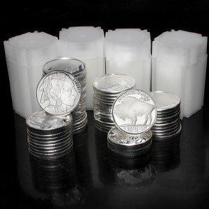 1P: 1 oz (.999) Fine Silver Round - (Buffalo)