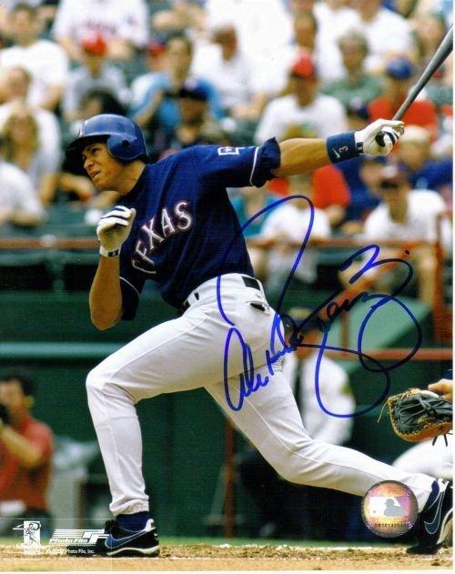 6F: Alex Rodriguezautographed photo