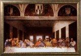 5C: Last Supper Framed Art Print