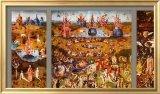 7C: The Garden of Delights c.1480 Framed Art Print