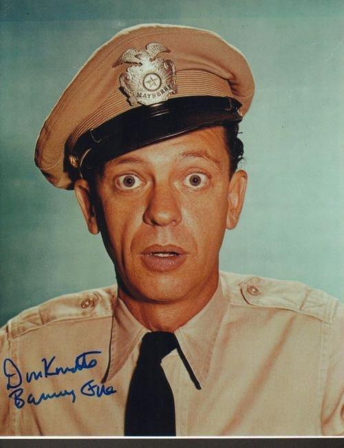 3R: Don Knotts 11x14 autographed photo