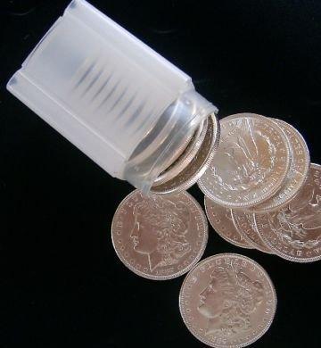 2: Lot of 20 UNC Morgan SIlver Dollars- Random Dates