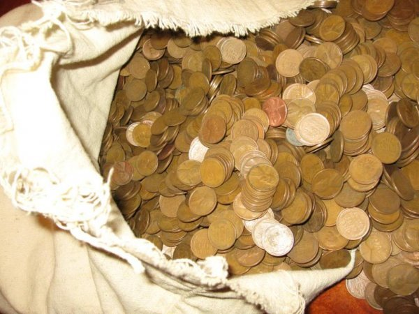 111: 200 Wheat Back Cents-