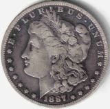 1C: Lot of 100 Morgan Silver Dollars- 1878-1921 -G-AU