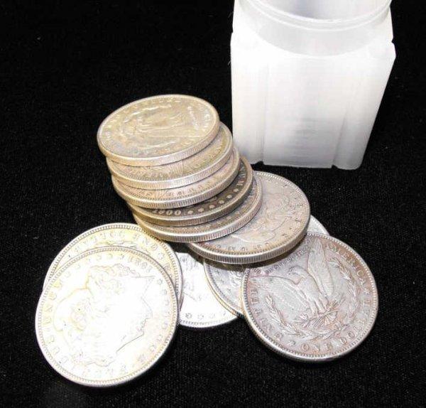 1: Lot of 20 Morgan Silver Dollars