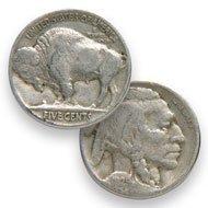 4: Lot of 100 Buffalo Nickels- Readable Date