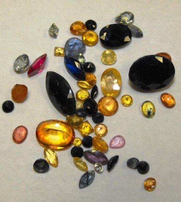 5K: Lot of 24.41 TCW Sapphire Gemstones