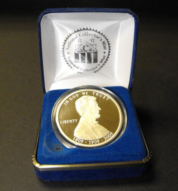 4B: National Collectors Mint Lincoln SIlver Penny