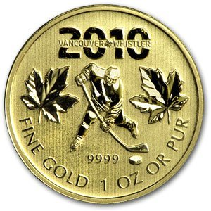 3A: 2010 - (1 oz) Gold Maple Leaf - 2010 Vancouver