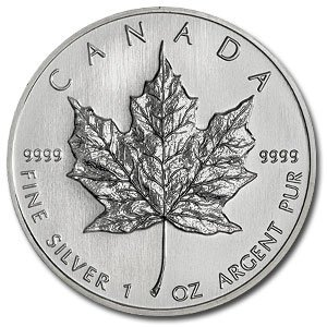 2T: 2010-(1 oz) Silver Maple Leaf - Brilliant Uncircula