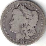 5: Random Date Morgan Silver Dollar