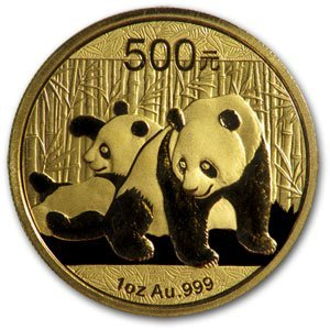 6A: 2010 1 oz Gold Chinese Panda