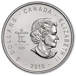 1S: 2010/10 Vancouver (1 oz) Silver Maple Leaf
