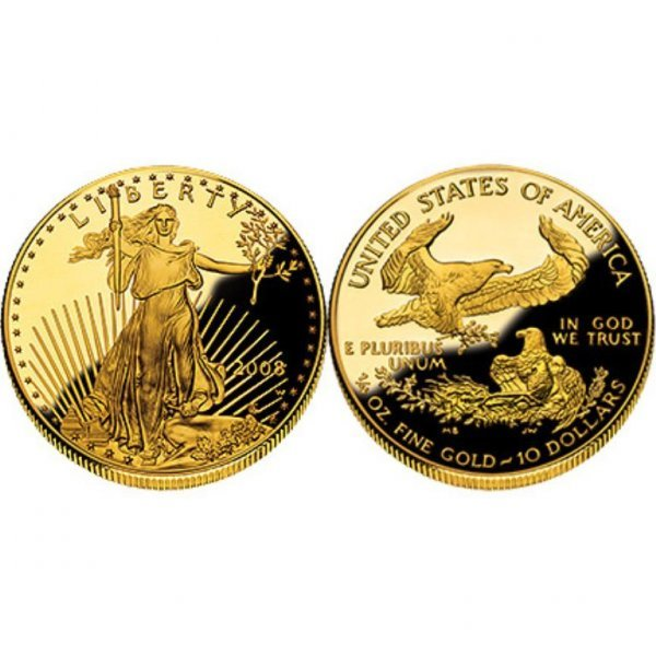 6: Random Date Uncirculated Gold Eagle-