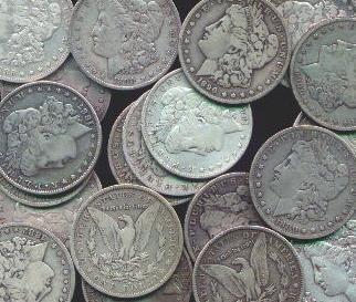 4: Nice Selection of Morgan Silver Silver Dollars- 33
