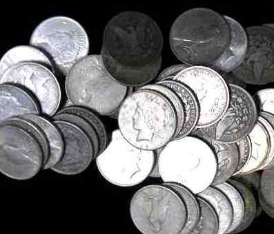 6: Lot of 100 US MINTED SILVER DOLLARS!