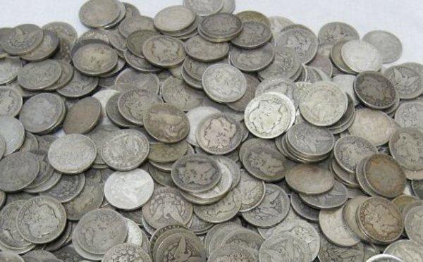 10: Lot of 80 Morgan Silver Dollars