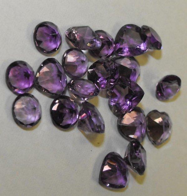 4K: Lot of 10.62 TCW Amethyst Gemstones