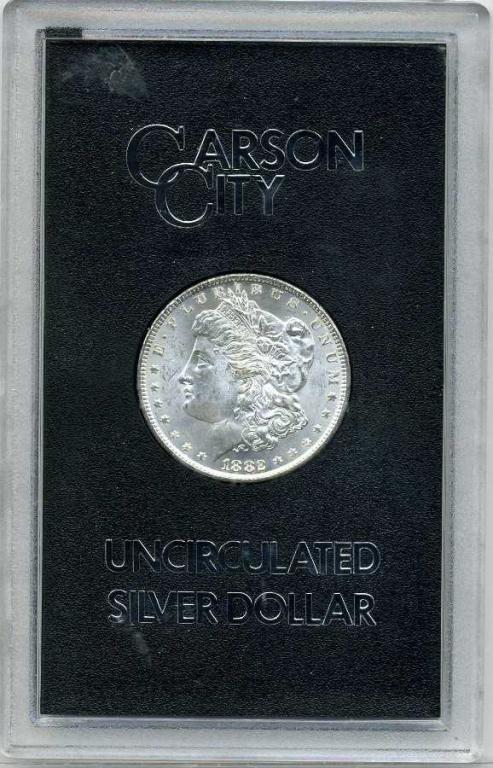 11: 1882 GSA Carson City Morgan- UNC