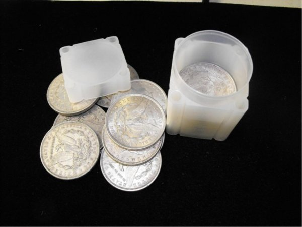 11: Roll of 20 Morgn Silver Dollars-