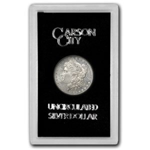 21T: 1880 CC GSA Morgan Silver Dollar