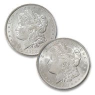20: (2) Coin Collection- First and Last Morgan