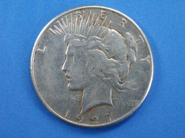5: Complete 1927-p,d, and S Peace Dollar Date Set