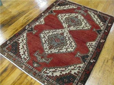 1: A Hand Tied Wool Persian Rug- Hamedan