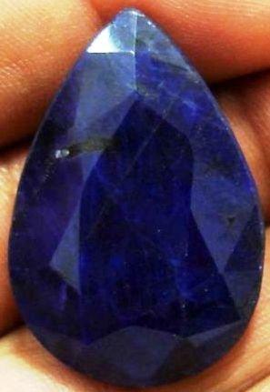 2G: 78.34 ct. SINGLE Stone Sapphire Pear Shape Gem $9k