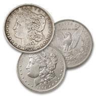 3: First & Last New Orleans Morgan Dollar Set