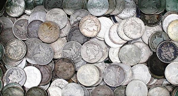5: Random Date Single Morgan Silver Dollar