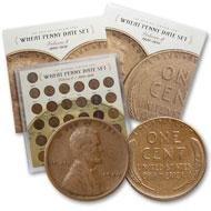 8: Wheat Penny Date Set 1909-1958