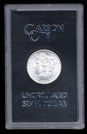 13: 1882 GSA CC Morgan Silver Dollar