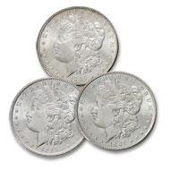 14: (3) Comstock Lode Silver Dollar Collection