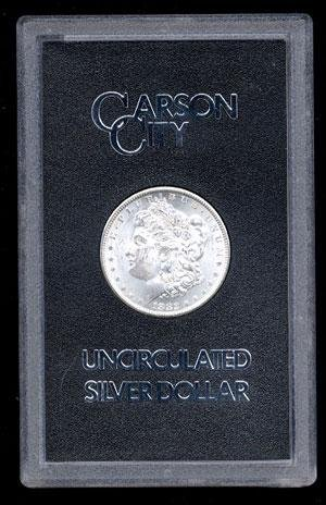 18P: 1882 GSA CC Morgan Silver Dollar